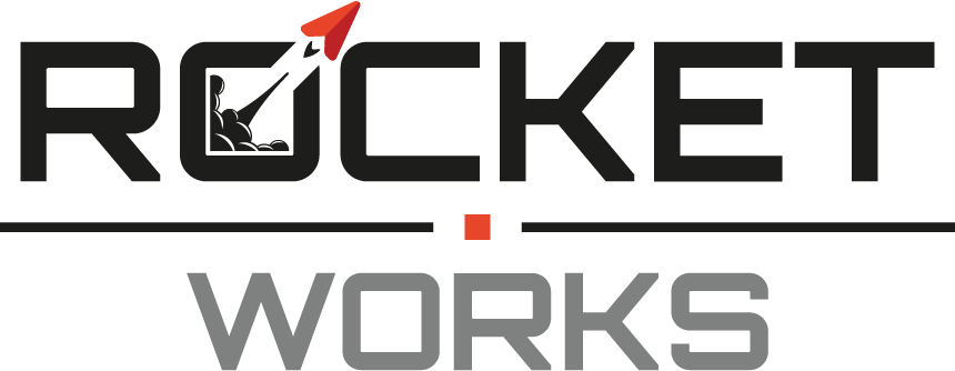 Logo von rocket.works - Webdesign Frankfurt