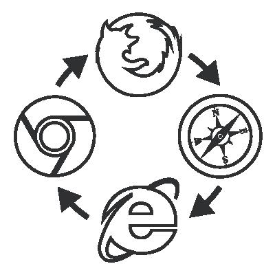 Cross-Browser Entwicklung