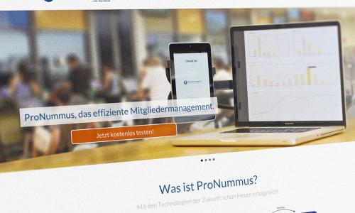 ProNummus Webseite